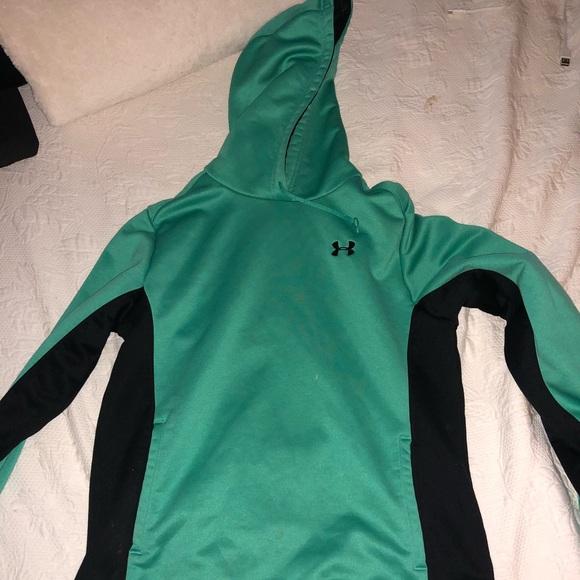 Tops - Teal Under Armour sweatshirt
